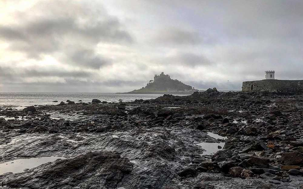 St Michaels Mount on a rainy day, Jo Esra