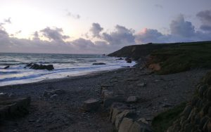 The beach at Gunwalloe